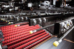 Unieke trekkeninstallatie in Theater aan het Spui