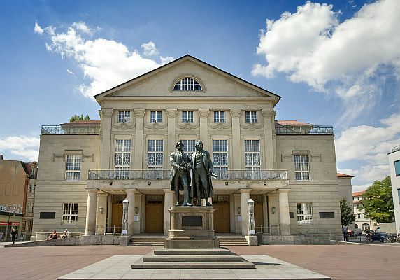 <h6>DE - Weimar - Deutsches Nationaltheater</h6>